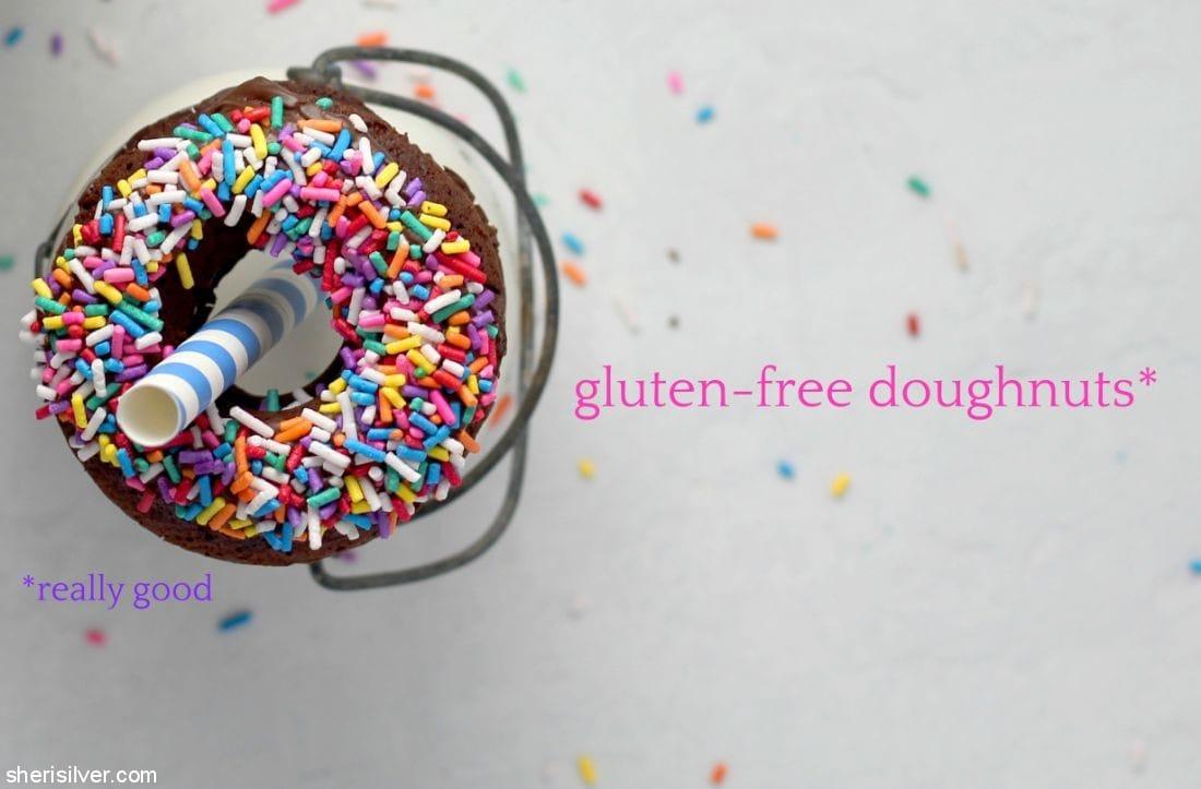 Gluten Free Doughnuts l sherisilver.com