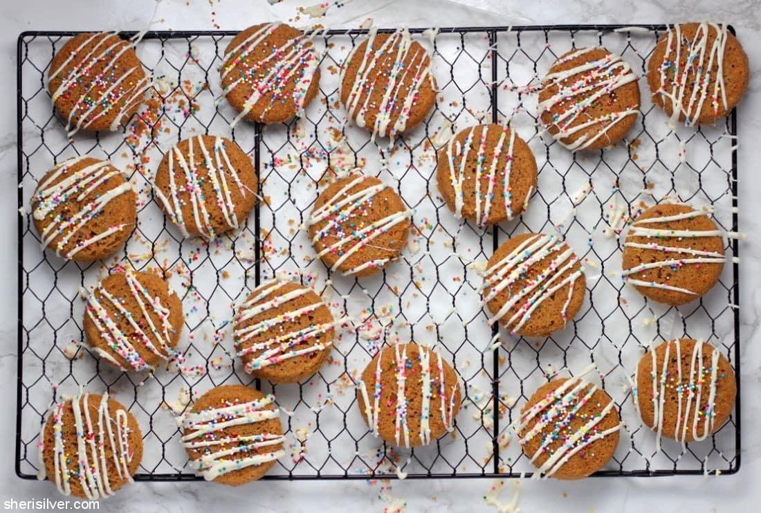 Passover Pretzel Cookies l sherisilver.com