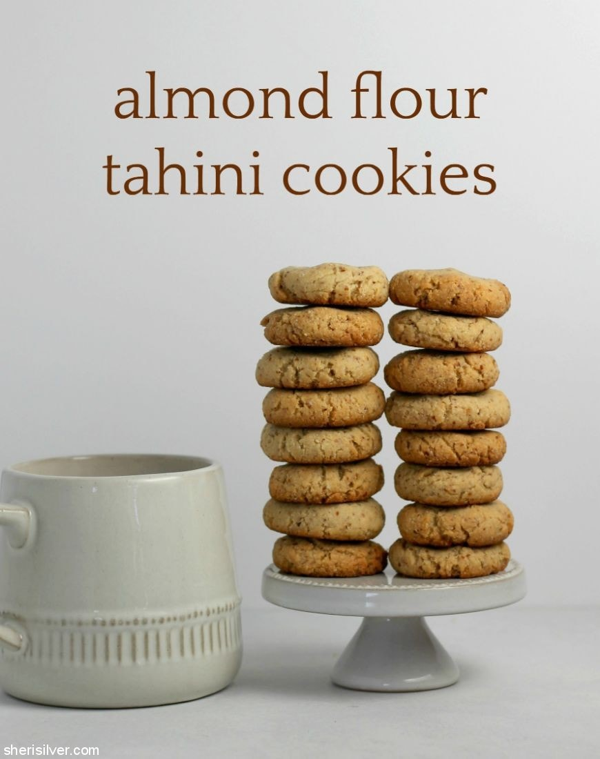 Cookie Jar Almond Flour Tahini Cookies Vegan Sheri Silver Living A Well Tended Life At Any Age