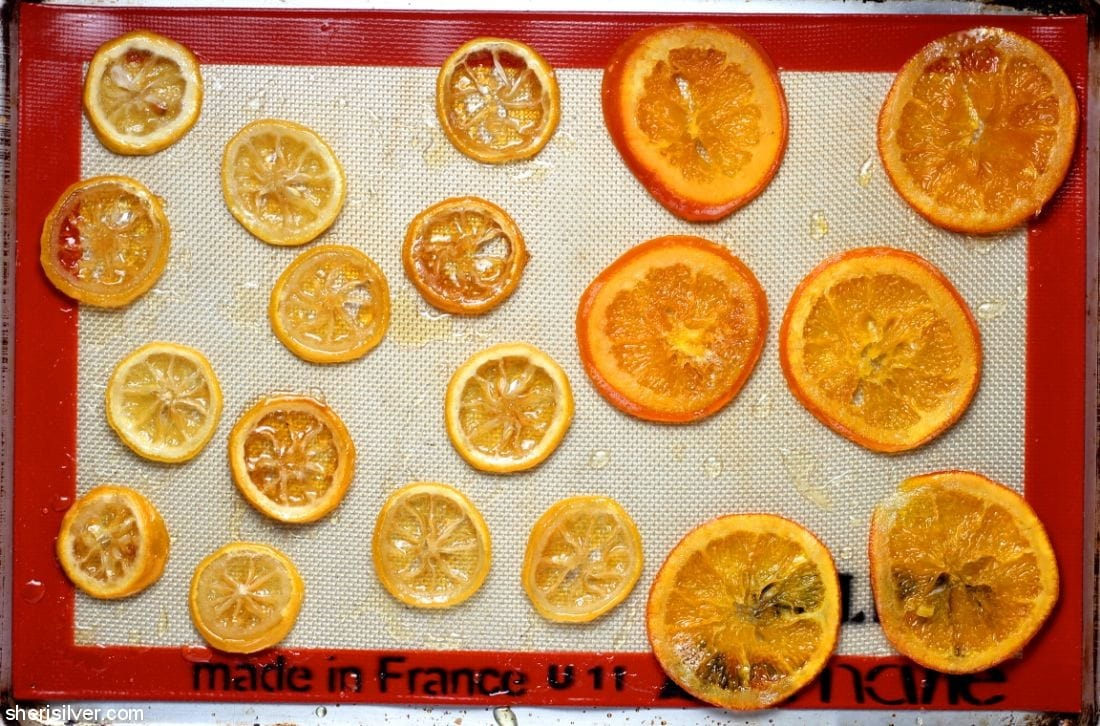 Candied Citrus Slices l sherisilver.com