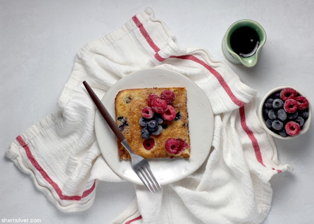 Sheet Pan Pancakes l sherisilver.com