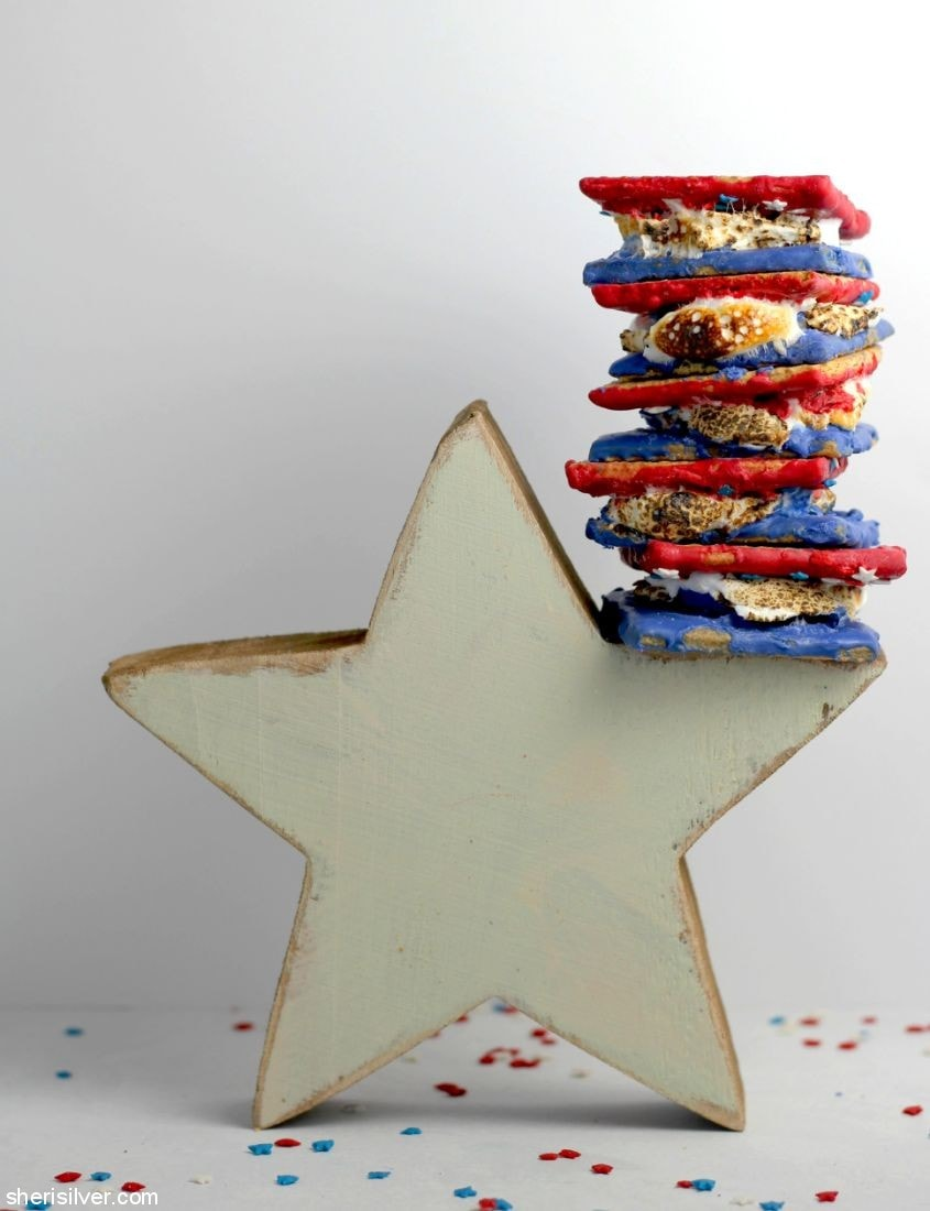 Red White & Blue S'mores l sherisilver.com