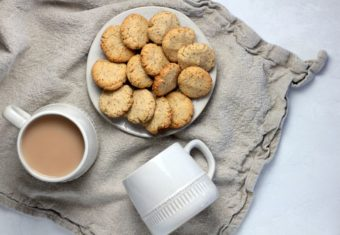 Almond Flour Tahini Cookies l sherisilver.com