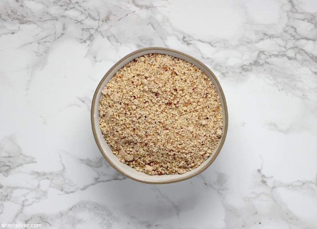 Homemade Almond Flour l sherisilver.com