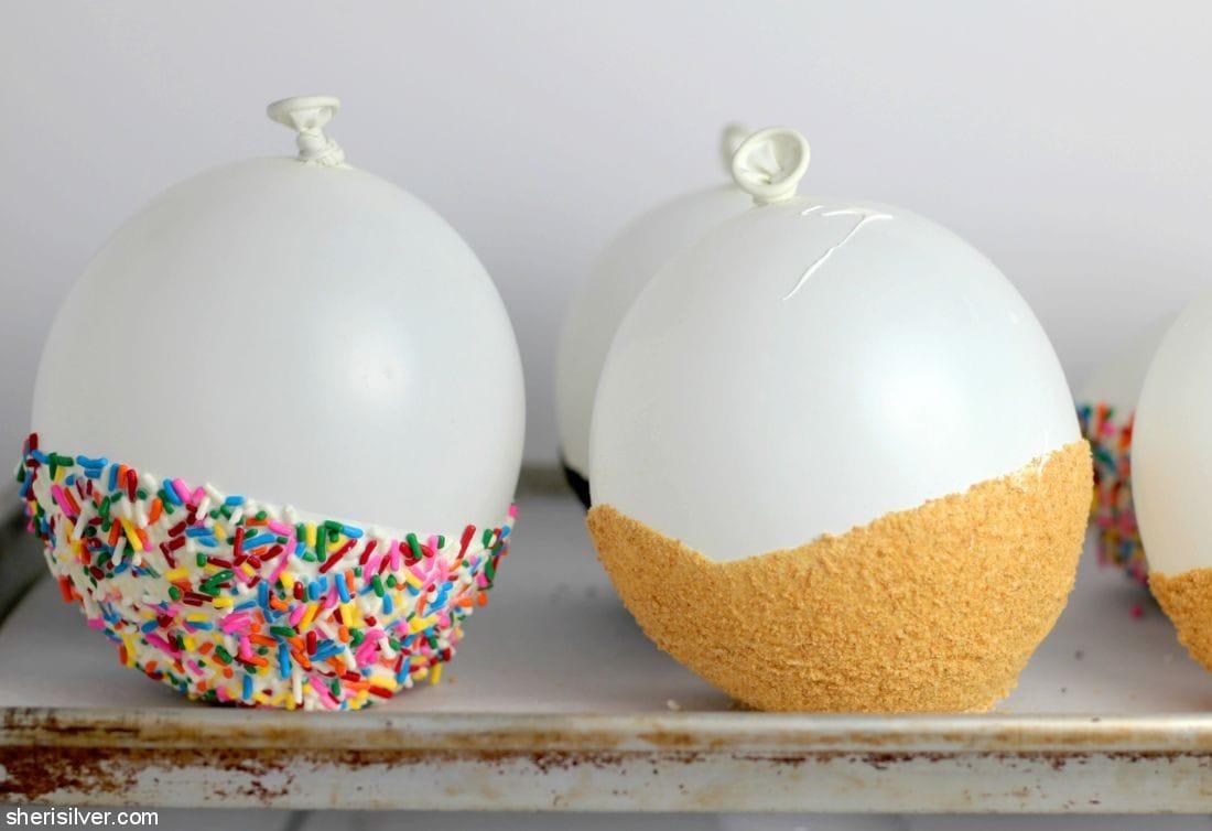 Edible Chocolate Bowls l sherisilver.com