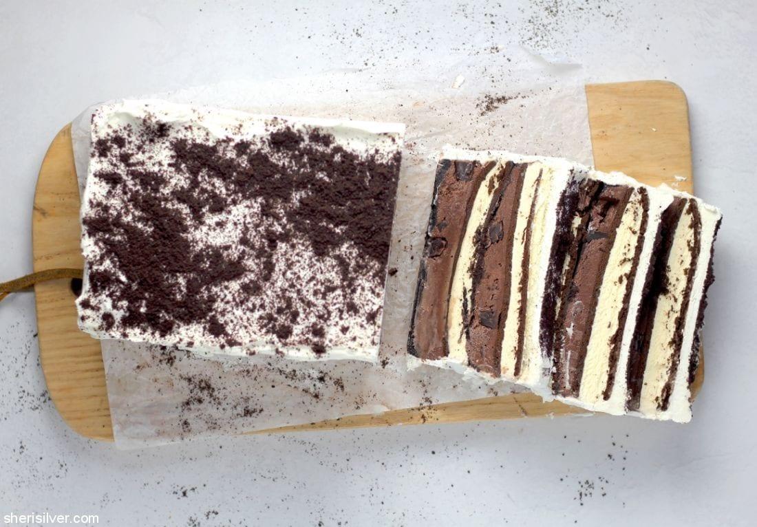 Ice Cream Sandwich Cake l sherisilver.com