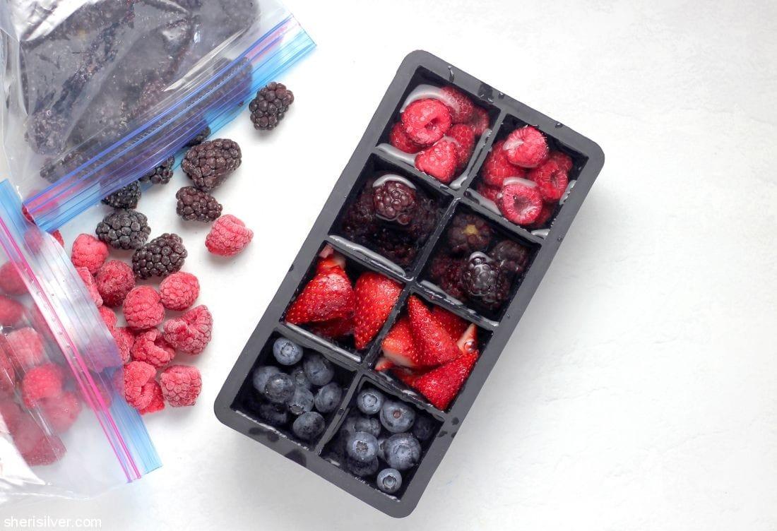 Fruity Ice Cubes l sherisilver.com