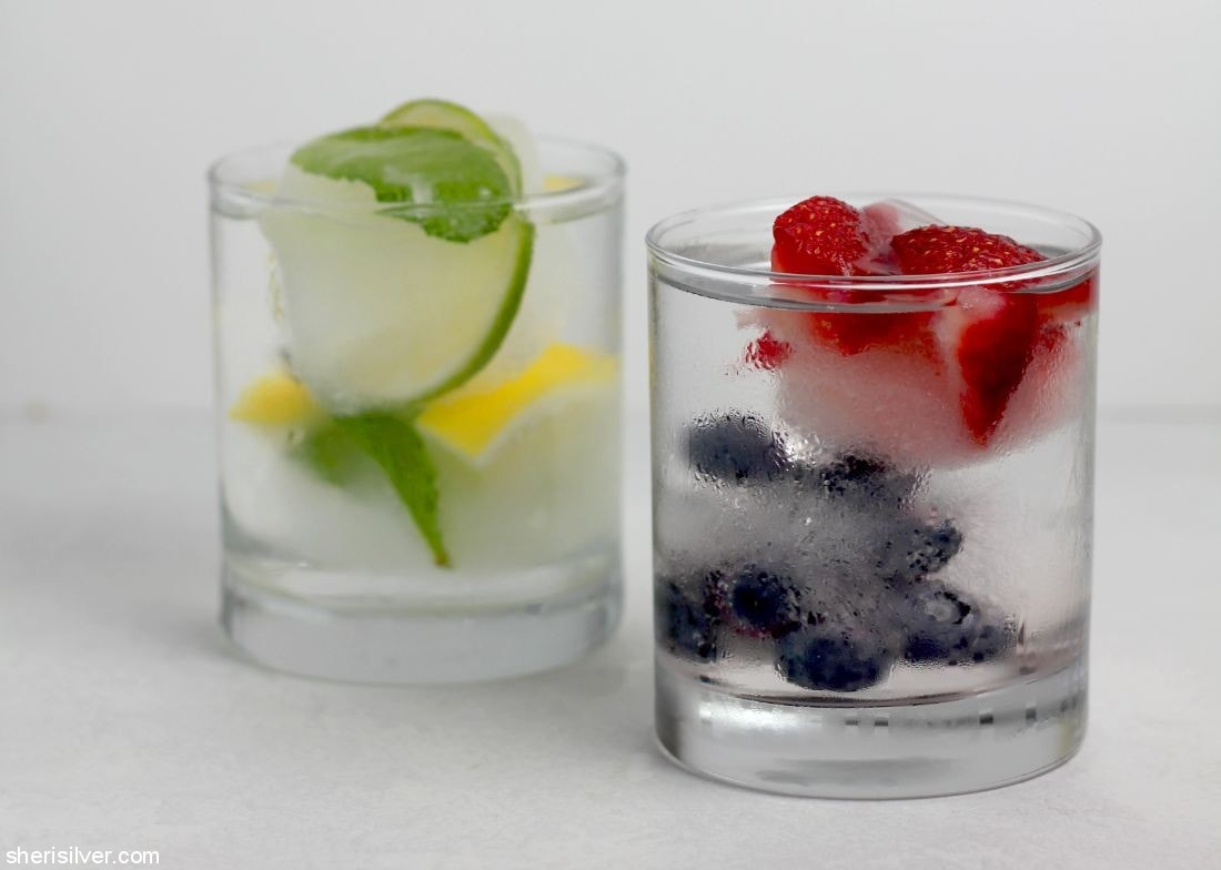Fruity Ice Cubes l sherisilver.com