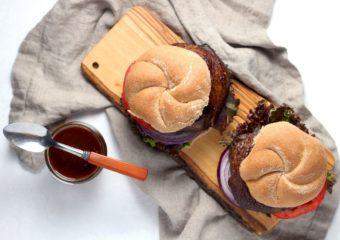 Portobello Burgers l sherisilver.com #ad