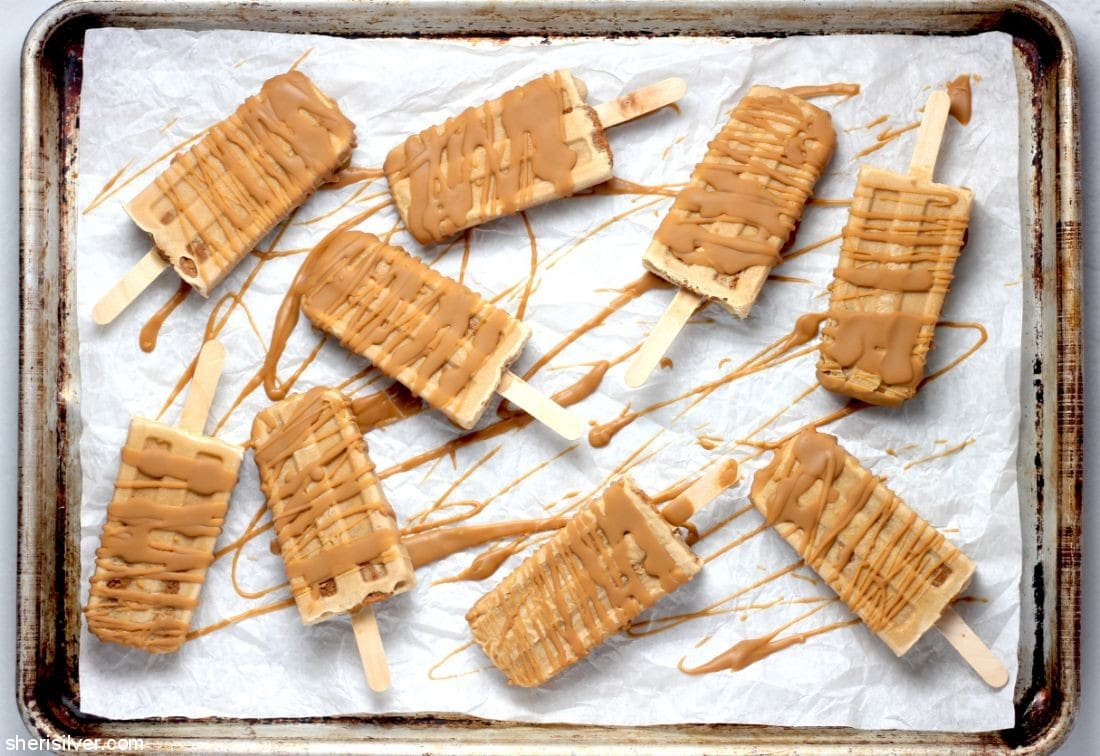 Triple Biscoff Popsicles l sherisilver.com