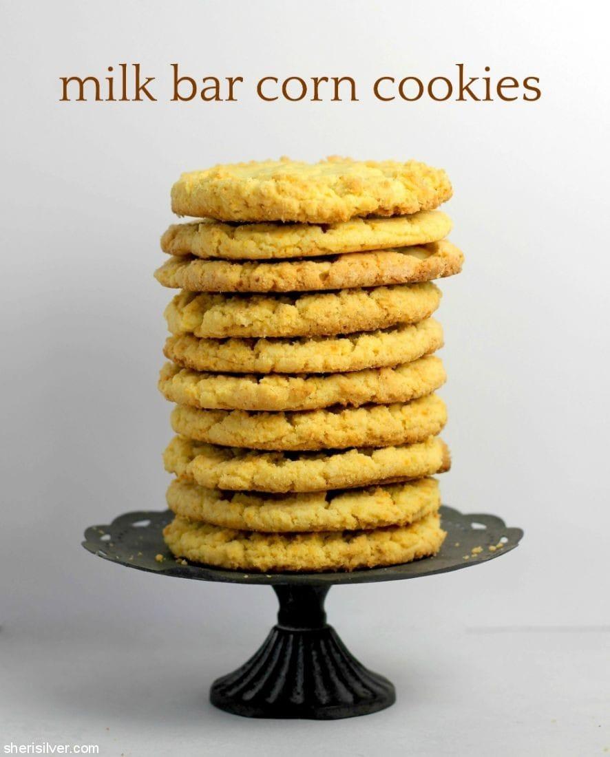 Milk Bar Corn Cookies l sherisilver.com