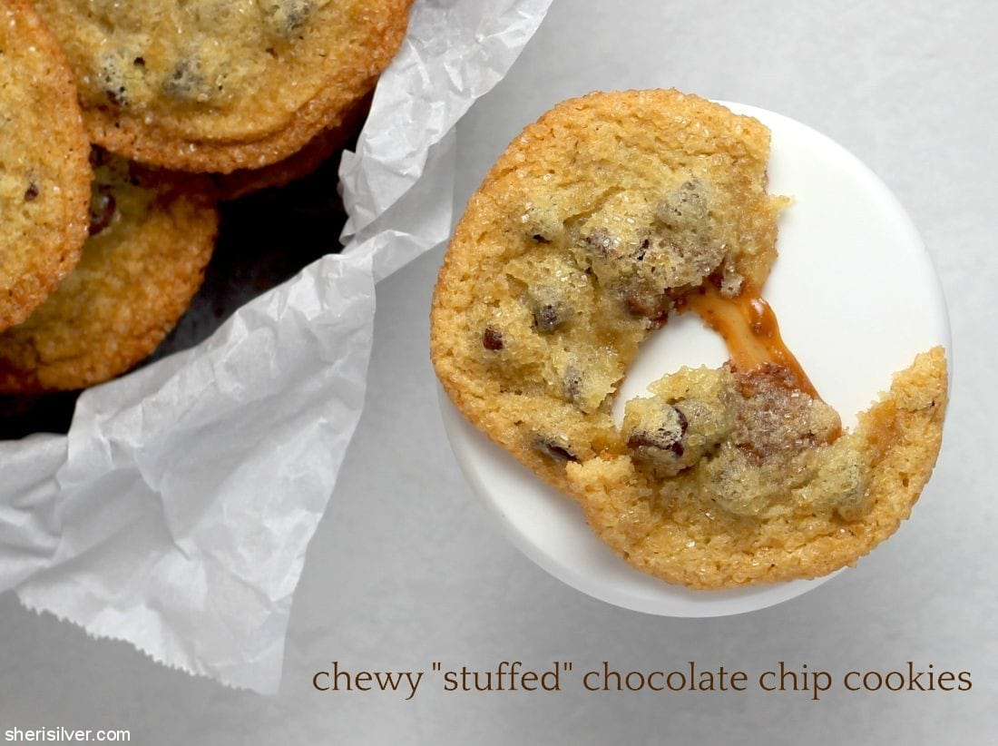 Chewy Stuffed Chocolate Chip Cookies #ad