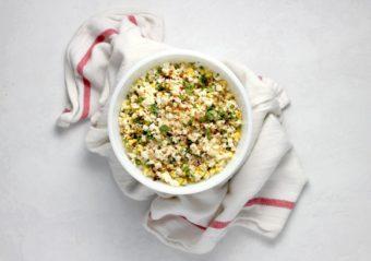 Street Corn Salad Esquites l sherisilver.com
