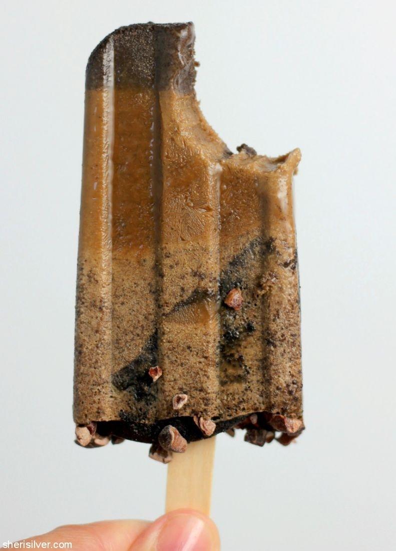 Mocha Malted Popsicles l sherisilver.com