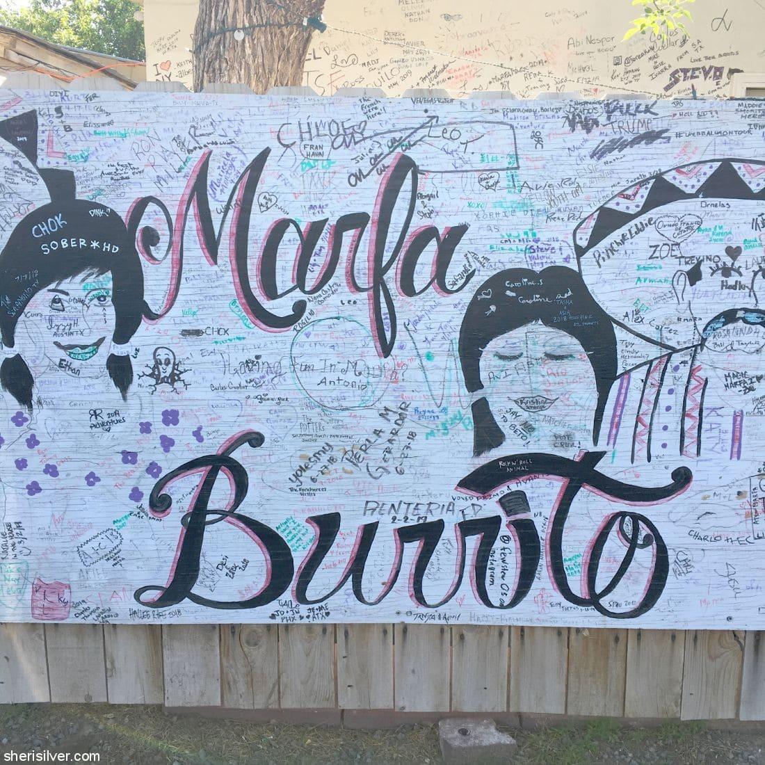 Marfa Burrito l sherisilver.com