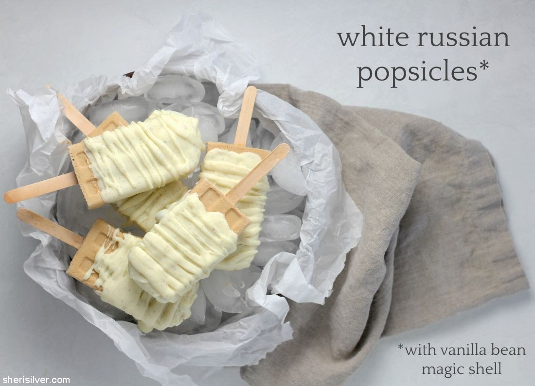 White Russian Popsicles l sherisilver.com