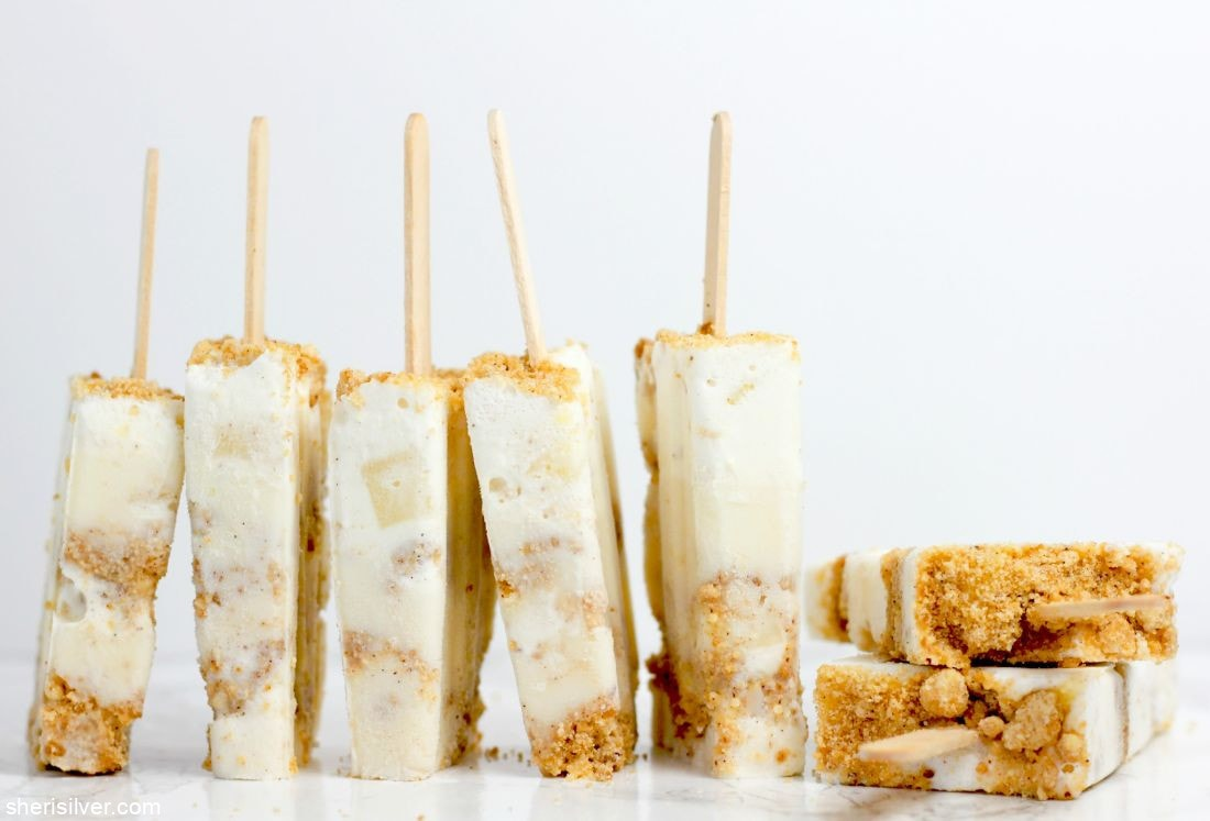 Apples and Honey Popsicles l sherisilver.com