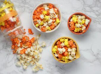 Candy Corn Popcorn l sherisilver.com