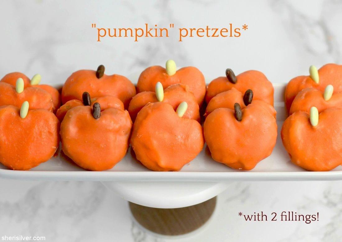 Pumpkin Pretzels l sherisilver.com