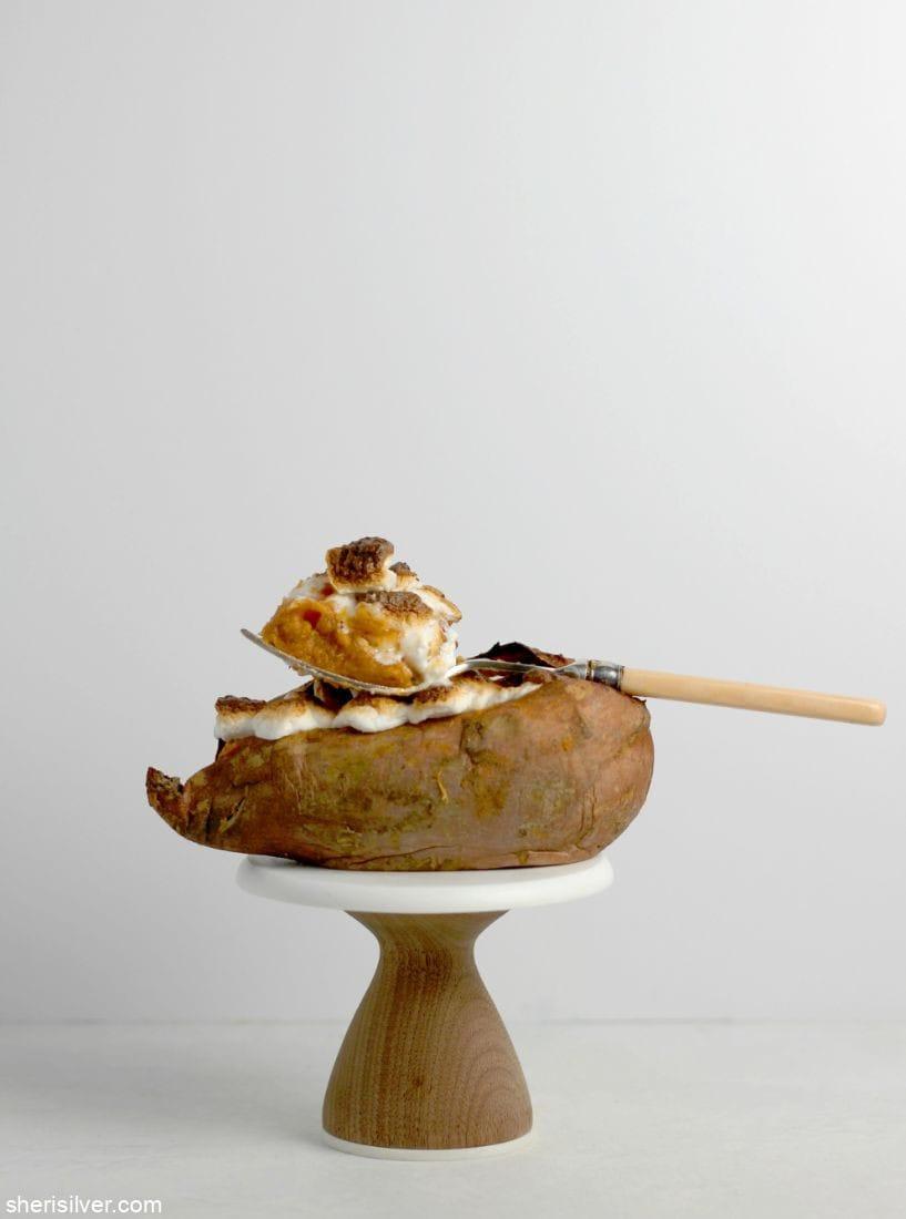 Individual Sweet Potato Casseroles l sherisilver.com