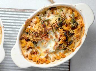 Pasta Sausage Broccoli Rabe Bake l sherisilver.com