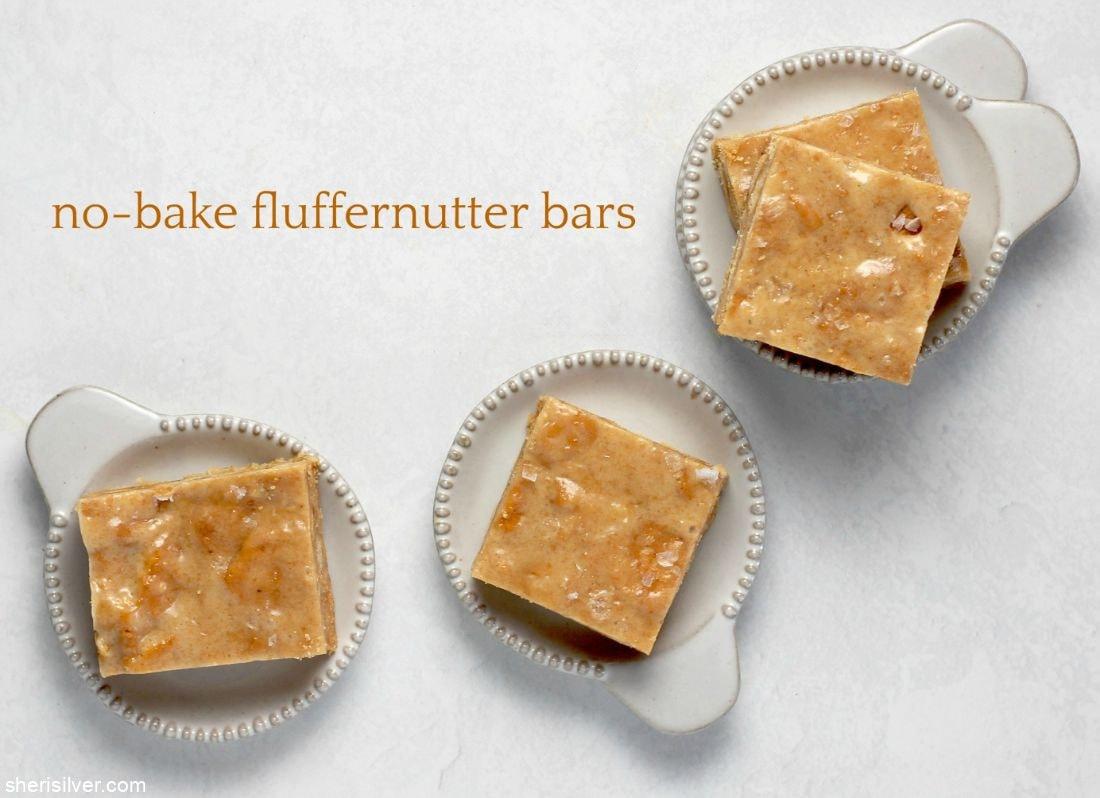 No-Bake Fluffernutter Bars l sherisilver.com