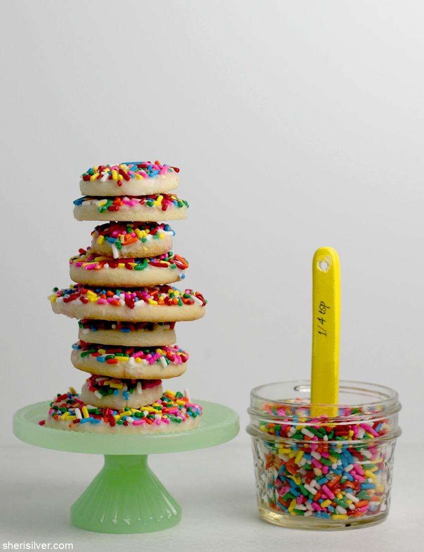 Vegan Sugar Cookies l sherisilver.com