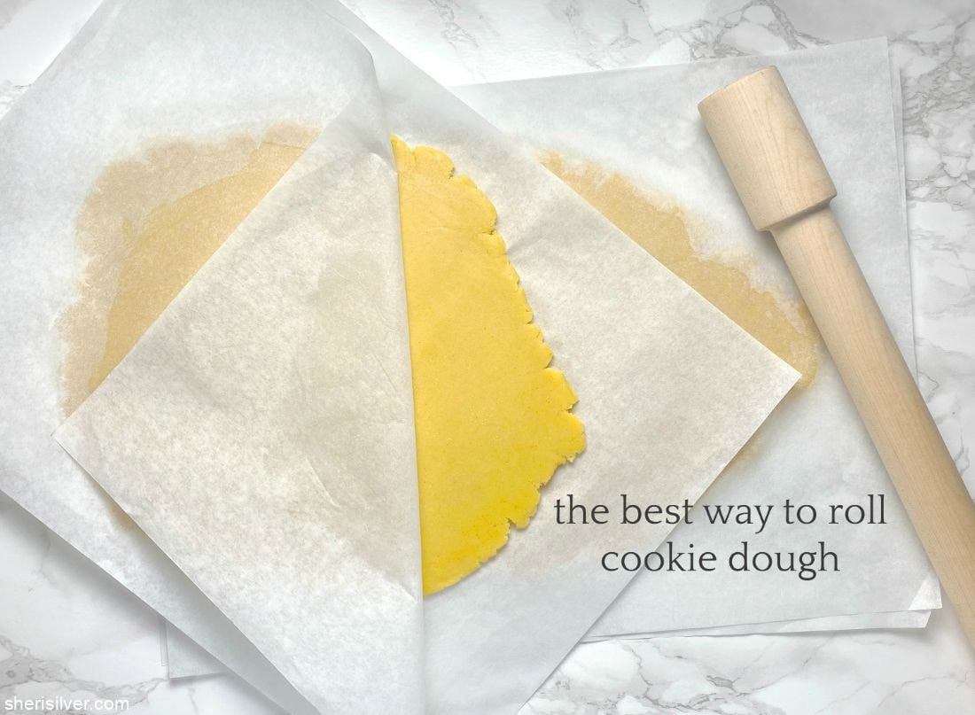 The Best Way To Roll Cookie Dough l sherisilver.com