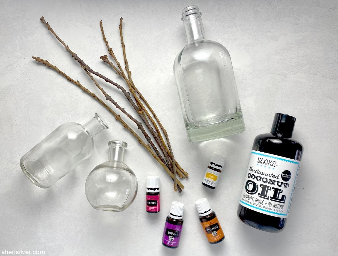 Homemade Reed Diffuser l sherisilver.com