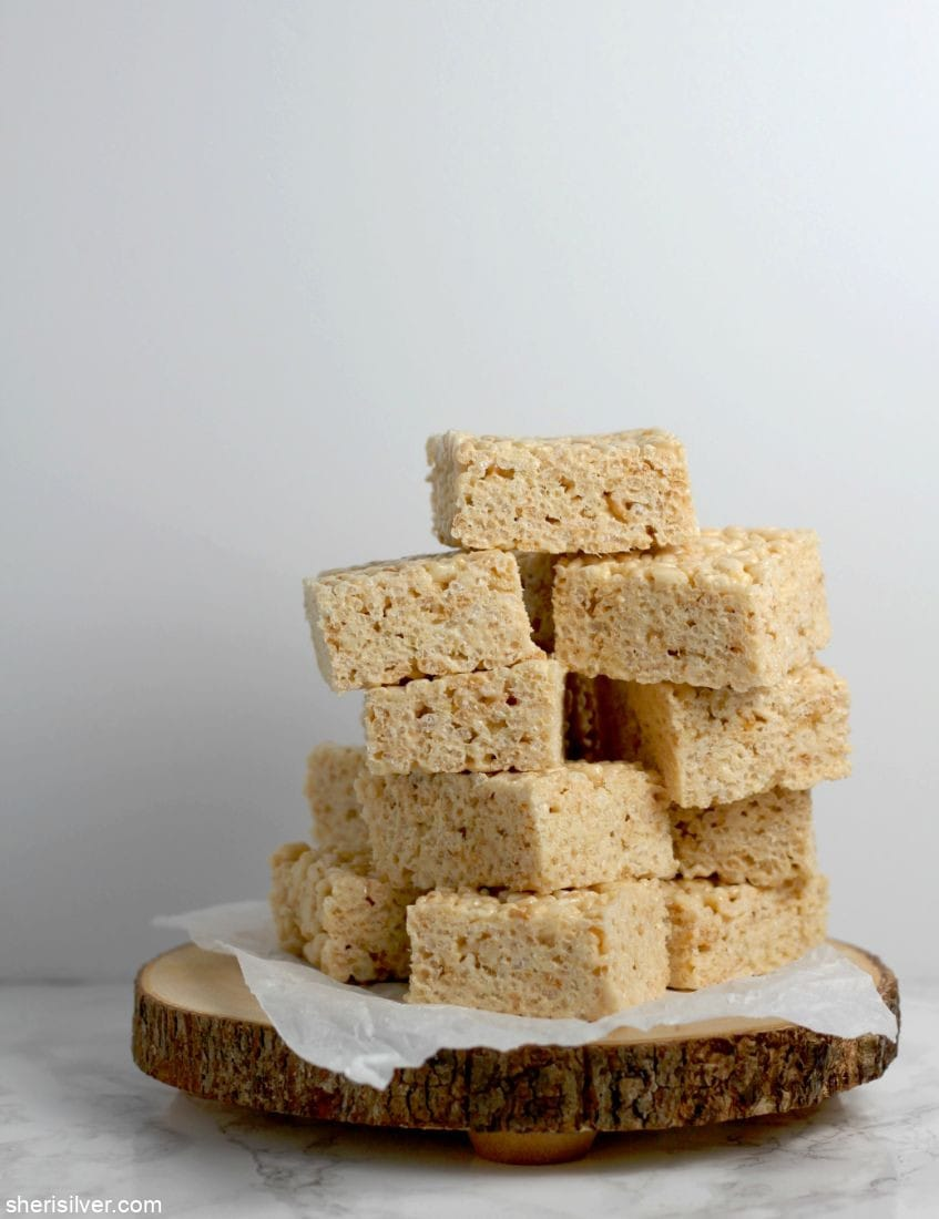 Best Ever RIce Krispies Treats l sherisilver.com