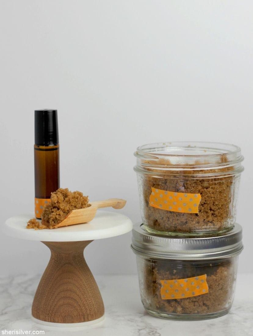 DIY Scrub And Perfume l sherisilver.com