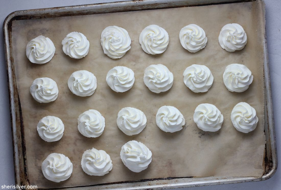 How to Freeze Whipped Cream l sherisilver.com