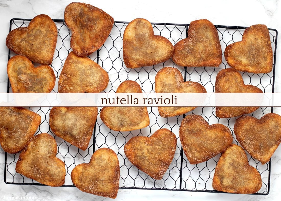 Nutella Ravioli l sherisilver.com