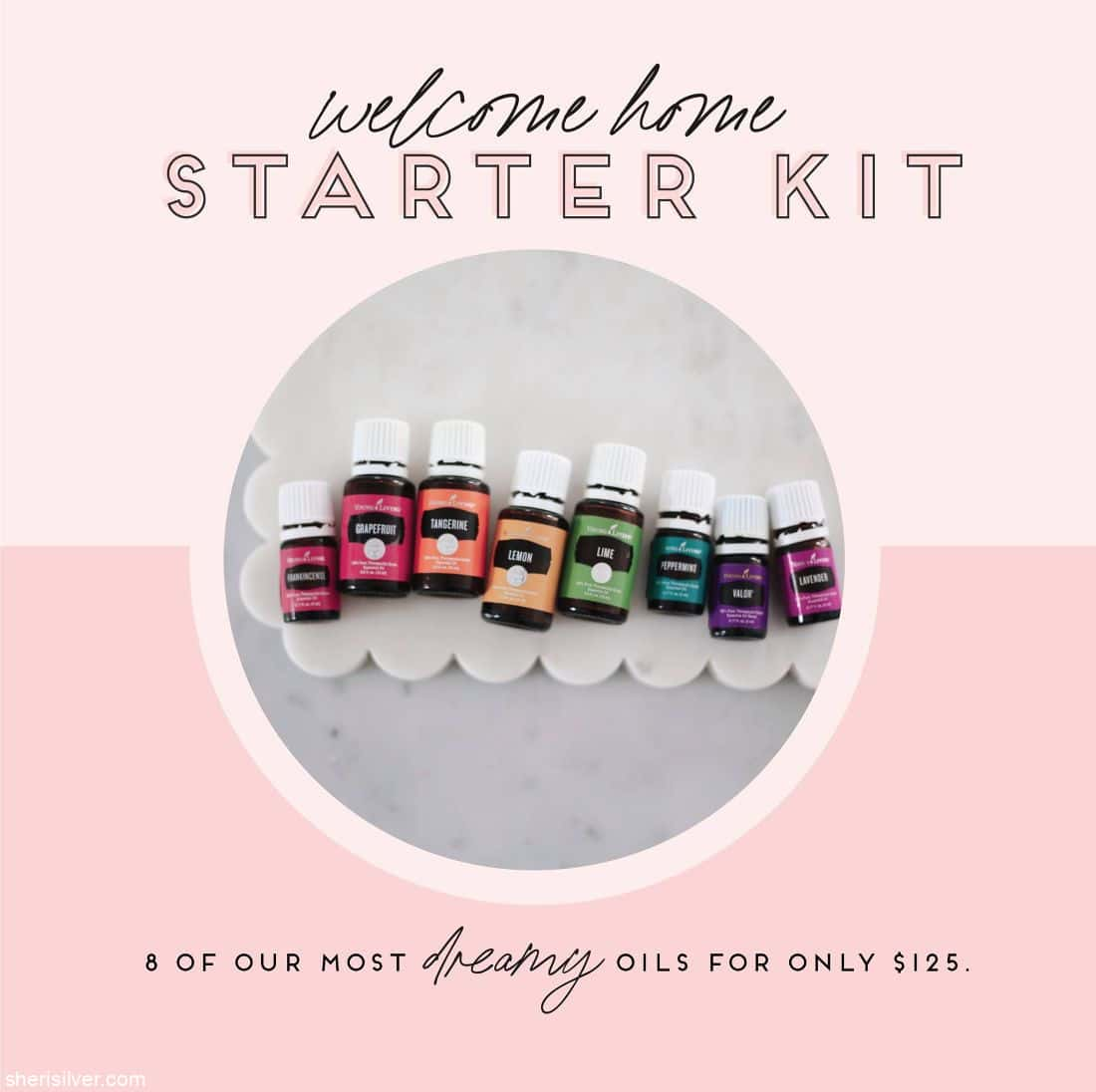 Young Living Welcome Home Starter Kit l sherisilver.com
