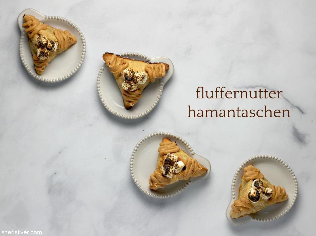Fluffernutter Hamantaschen l sherisilver.com