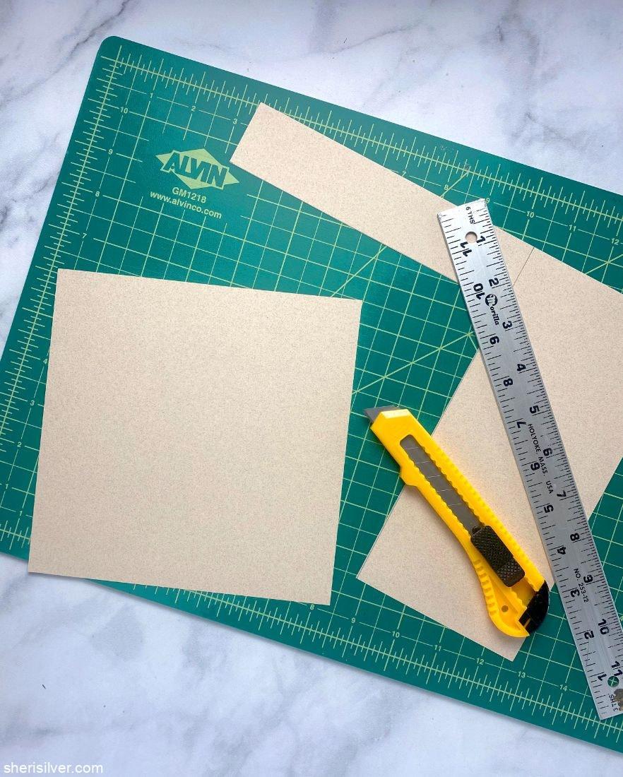 How to Make a Paper Cone l sherisilver.com