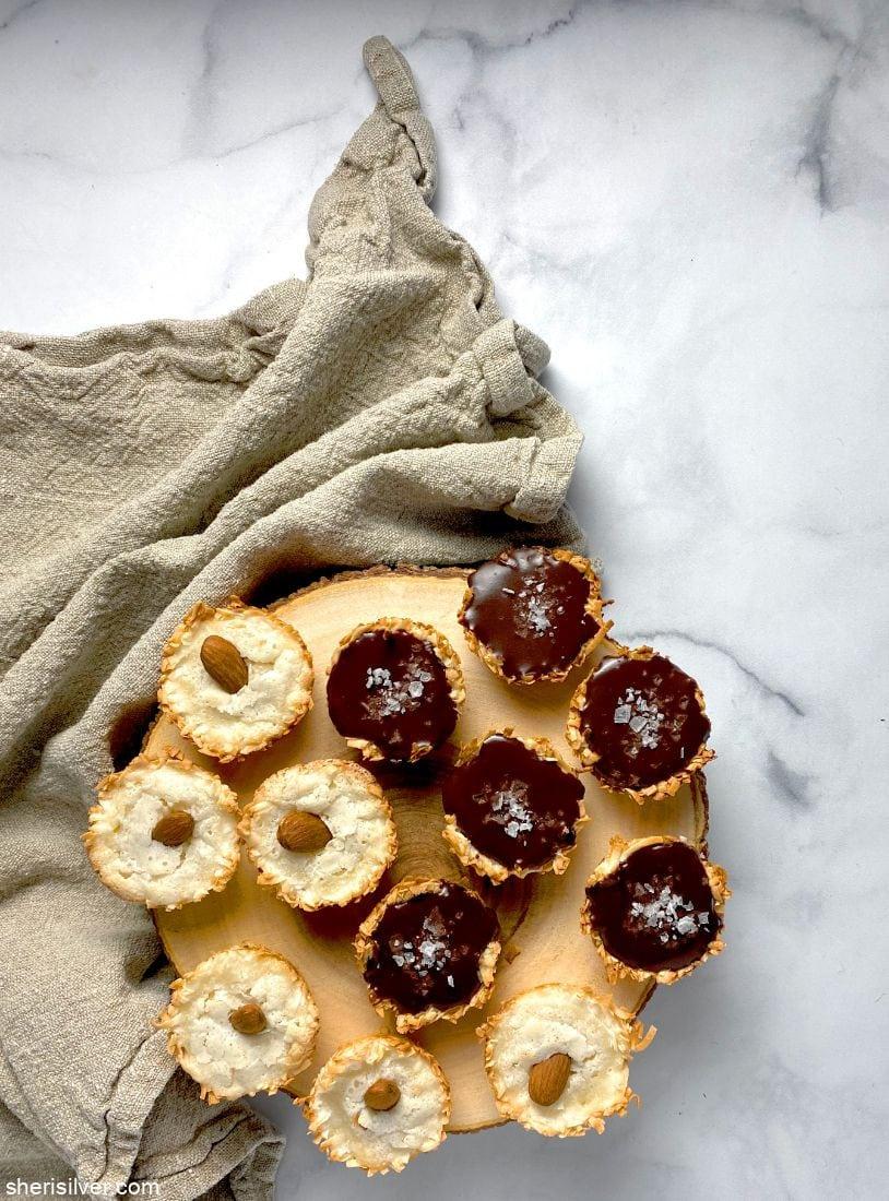 Coconut Macaroon Tartlets l sherisilver.com