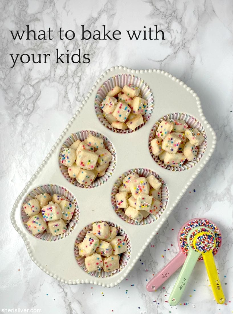 What To Bake With Your Kids l sherisilver.com