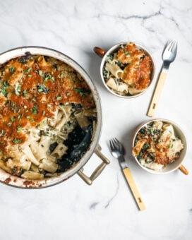 Broccoli Rabe Pasta Bake l sherisilver.com
