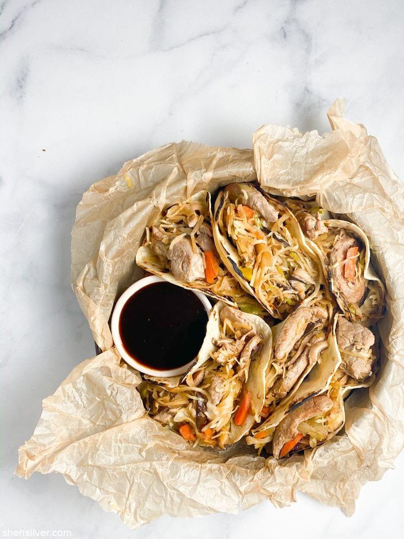 Moo Shu Pork Stir Fry l sherisilver.com