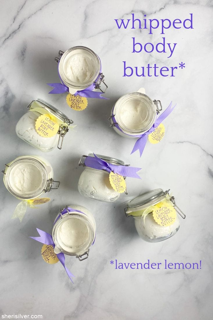 Whipped Body Butter l sherisilver.com