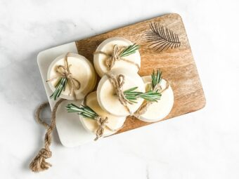 Rosemary Lemon Exfoliating Soap l sherisilver.com