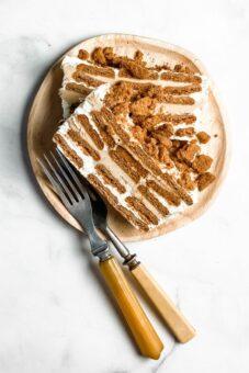 Biscoff Icebox Cake l sherisilver.com