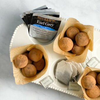 Earl Grey Truffles l sherisilver.com