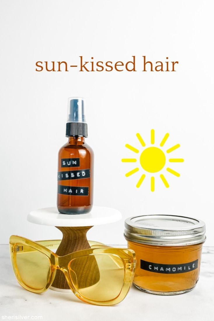 Sun-Kissed Hairspray l sherisilver.com