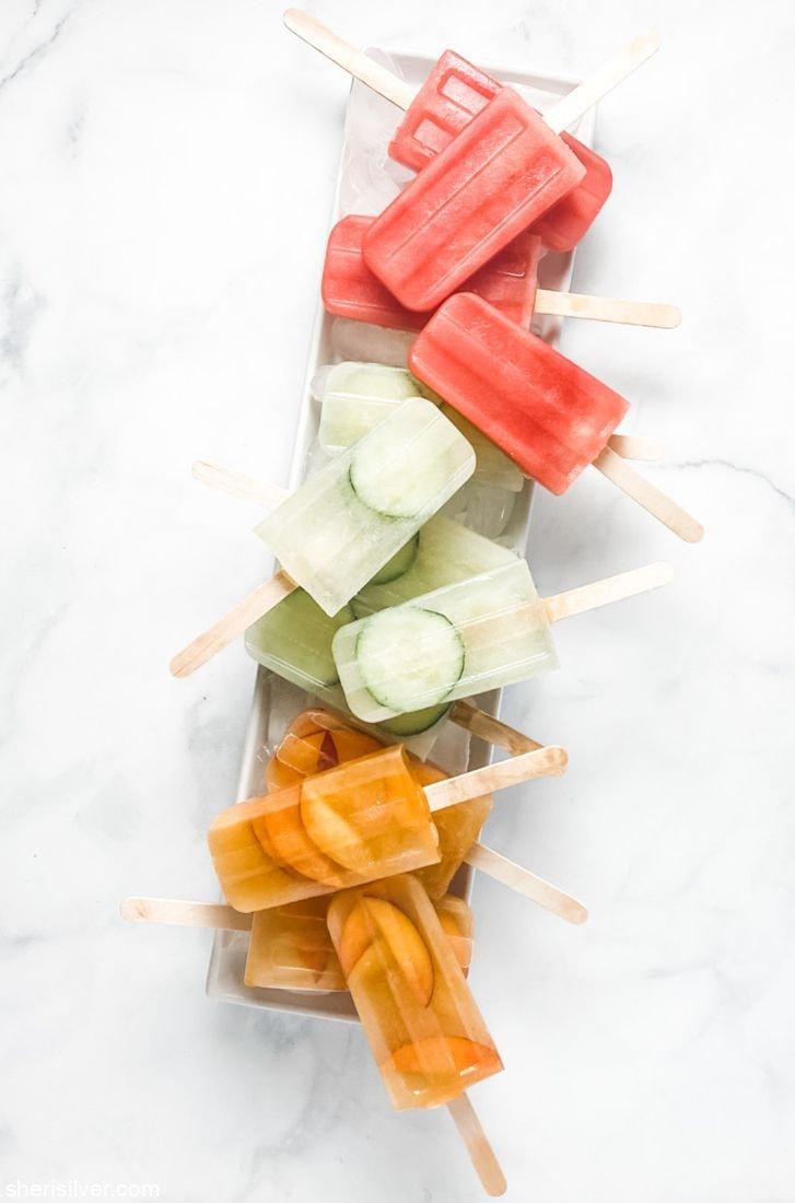 Agua Fresca Popsicles l sherisilver.com