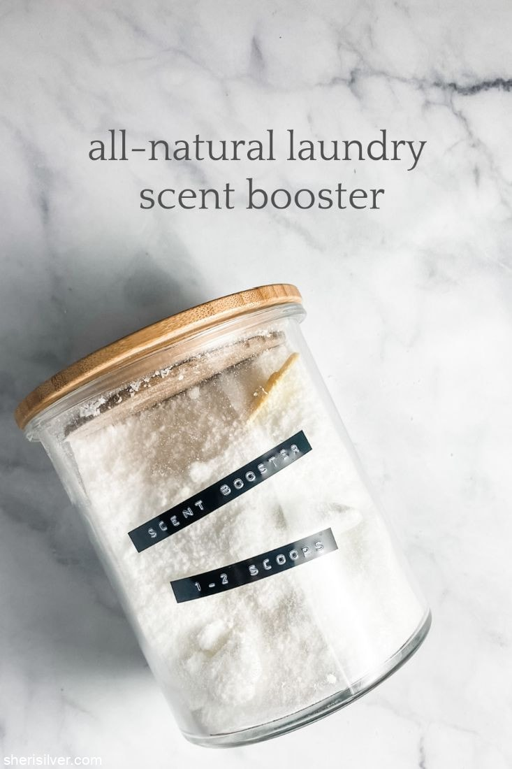 All Natural Laundry Scent Booster l sherisilver.com