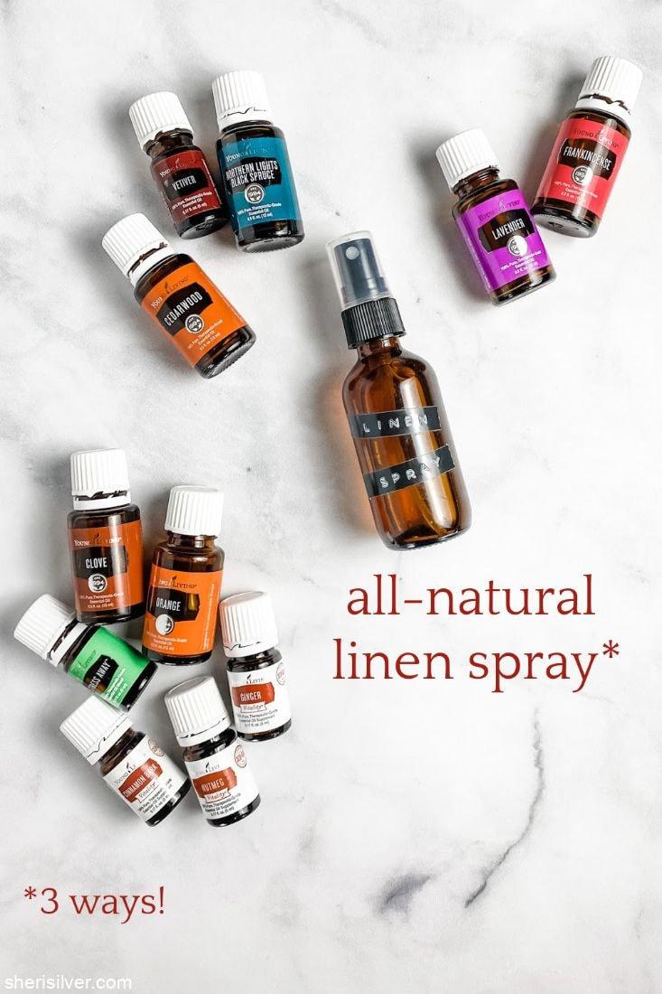 All Natural Linen Spray l sherisilver.com