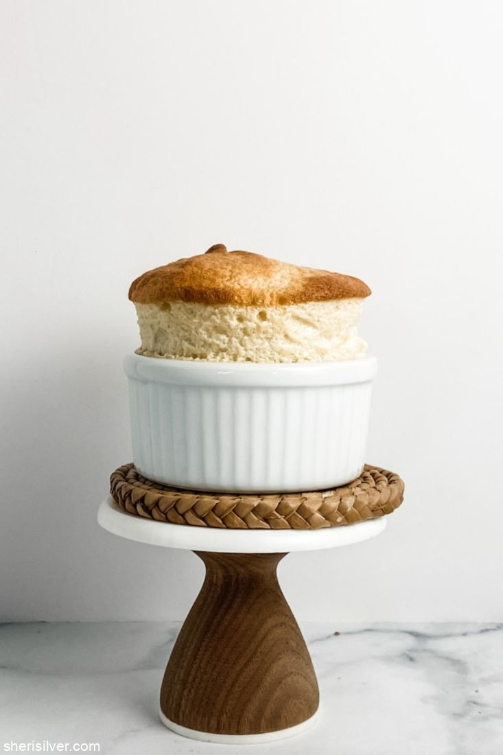 Two Ingredient Maple Souffles l sherisilver.com