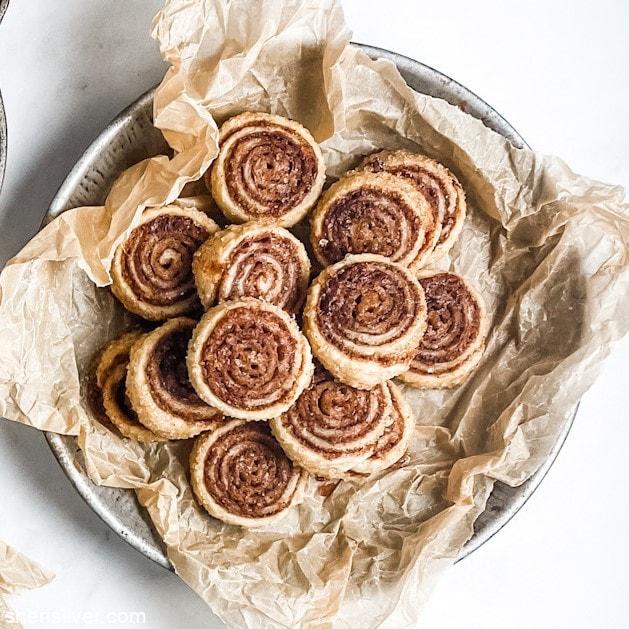 Pie Crust Cookies l sherisilver.com